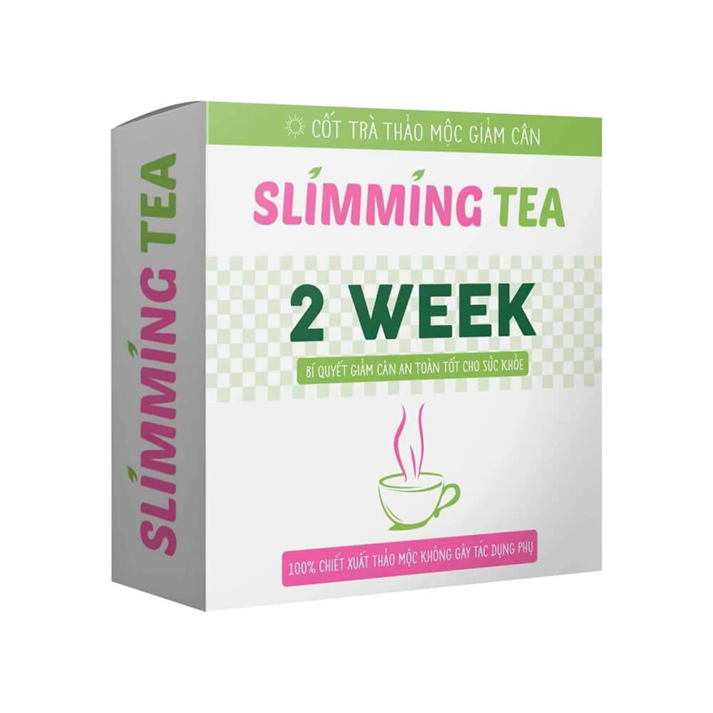 Tra Giam Can Slimming Tea 2 Week Chiet Xuat Thao Moc