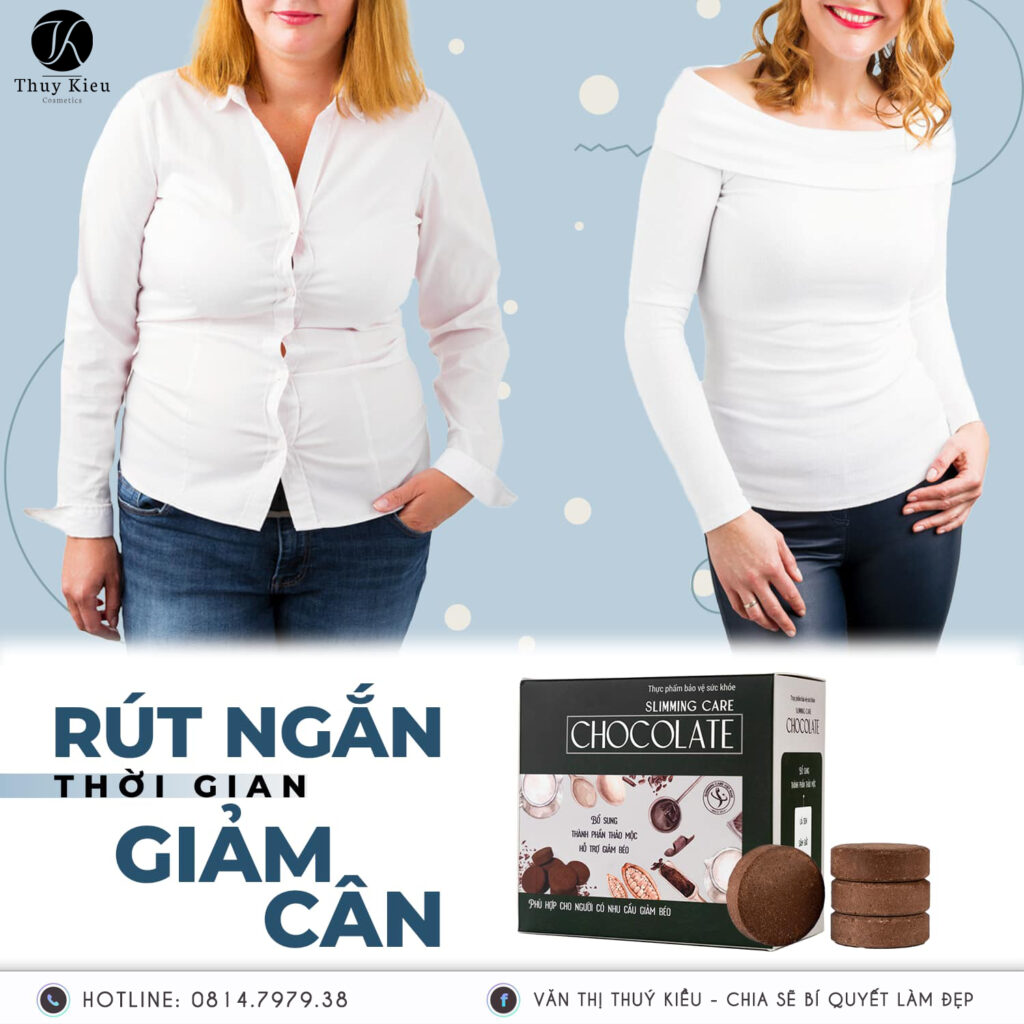 Socola Giam Can Slimming Care The He Moi