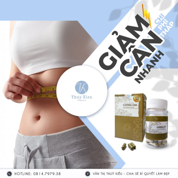 Vien Thao Moc Giam Can Slimming Care X3